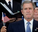 bush-with-flag