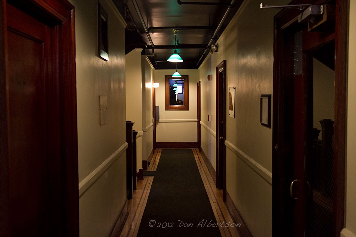 Voices carry apartment hallway etiquette larry gross online for Apartment foyer ideas
