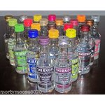 little bottles of vodka