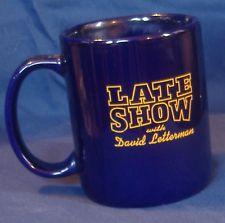 david letterman coffee mug