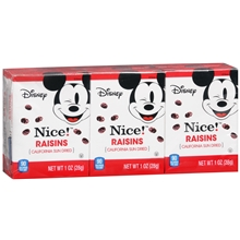 mickey mouse raisins